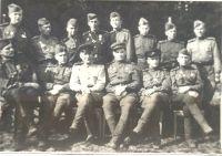 1944 год. Висло-Одерская операция. Березовский - командир саперного батальона со своими саперами.