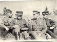 Шульга Василий Павлович с адъютантом Мартыновым Тимуром Андреевичем